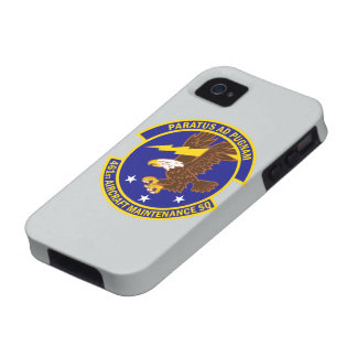 461st Aircraft Maintenance Squadron iPhone 4 Covers
