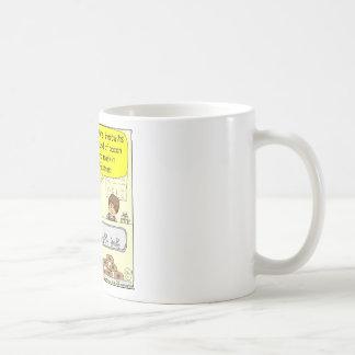 463 kosher bacon Goyem pastrami Cartoon Basic White Mug