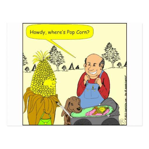 469 where is pop corn cartoon post card