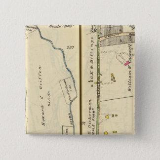 46-47 White Plains, Scarsdale 15 Cm Square Badge