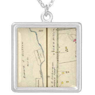46-47 White Plains, Scarsdale Silver Plated Necklace