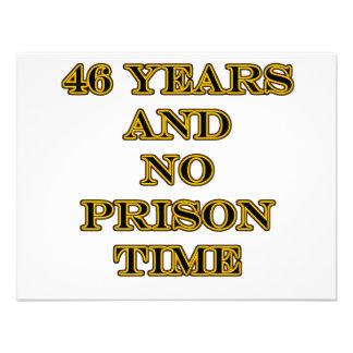 46 No prison time Invite
