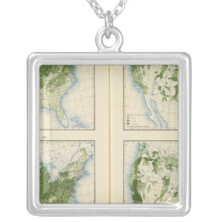 46 Wheat 1890 Silver Plated Necklace