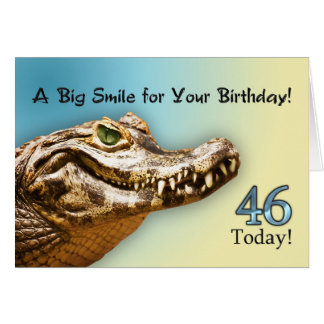 46th Birthday Card