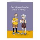 46th Wedding Anniversary Card: Love Card