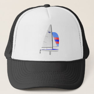 470  Racing Sailboat onedesign Olympic Class Trucker Hat