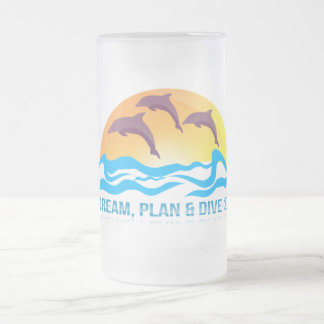 473 ml  Frosted Glass Mug - mydive