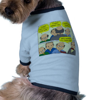475 CUP OF TEA cartoon Ringer Dog Shirt