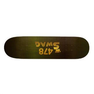 478 Area Code Swag Skate Board Deck