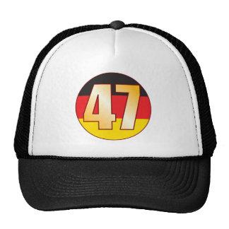 47 GERMANY Gold Cap