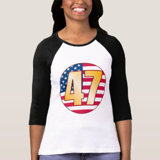47 USA Gold T-Shirt