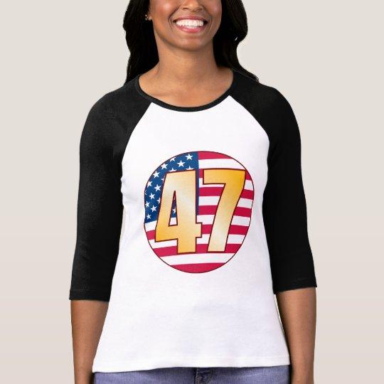 47 USA Gold T-Shirt