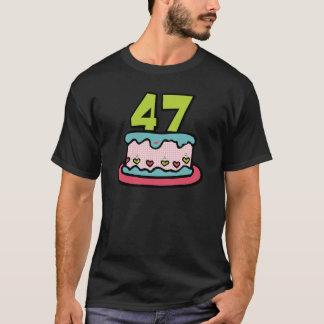 47 Year Old Birthday Cake T-Shirt