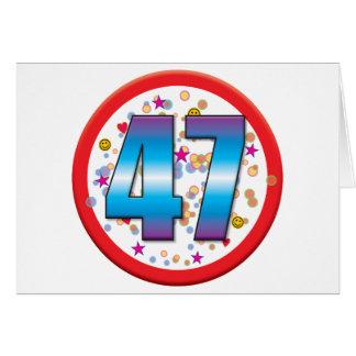 47th Birthday v2 Card