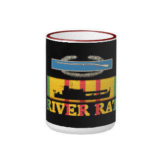 47th Infantry CIB River Rat Mug