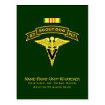 47th IPSD - Vet Svcs Post Cards