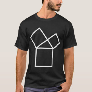 47th Problem of Euclid, dark T-Shirt