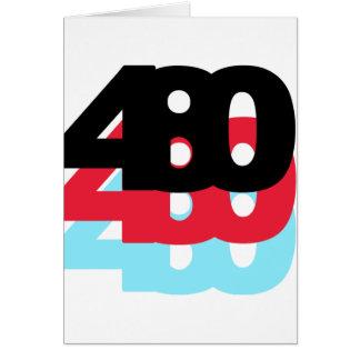 480 Area Code Cards