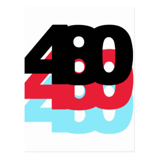 480 Area Code Postcard