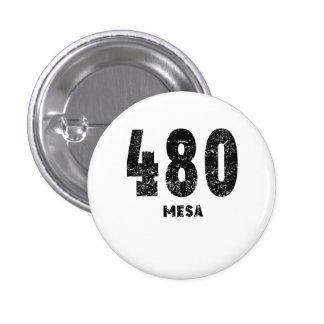 480 Mesa Distressed 3 Cm Round Badge