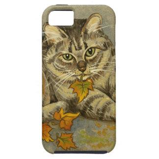 4872 Autumn Cat iPhone 5 Case