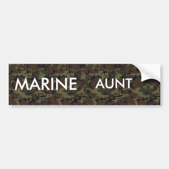 489, 489, MARINE, AUNT BUMPER STICKER