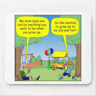 489 Be anything Cartoon Mouse Pad