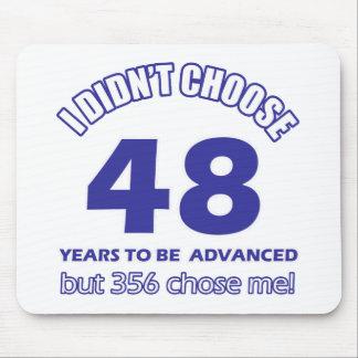 48 years advancement mousepad