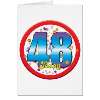 48th Birthday Today v2 Cards