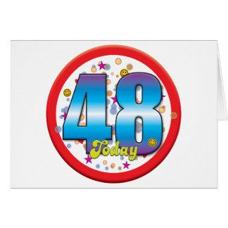 48th Birthday Today v2 Card