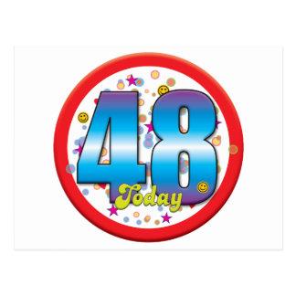 48th Birthday Today v2 Post Cards