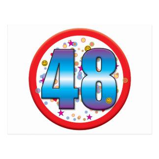 48th Birthday v2 Post Cards