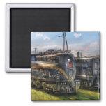 4919 - Pennsylvania Railroad electric locomotive Refrigerator Magnets