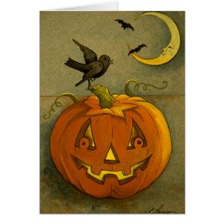 4923 Halloween Greeting Card