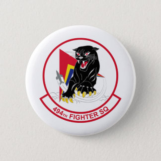 494th Fighter Squadron 6 Cm Round Badge