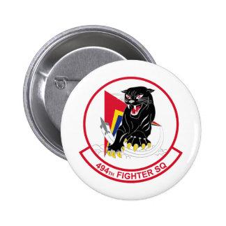 494th Fighter Squadron 6 Cm Round Badge