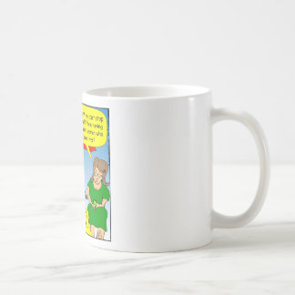 495 heroine addict cartoon basic white mug