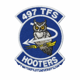 497th TFS Polo W/F-4 and Call Sign (Dark Polo)