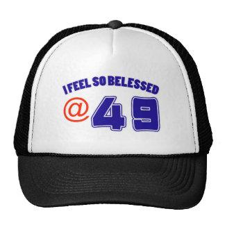 49 birthday design cap