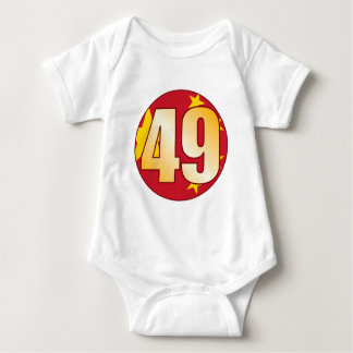 49 CHINA Gold Baby Bodysuit