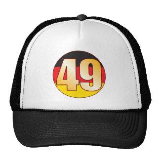 49 GERMANY Gold Cap
