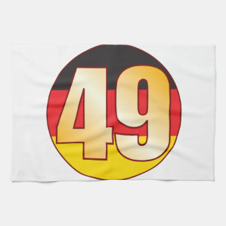 49 GERMANY Gold Towel