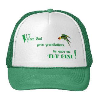 49When God Gave Grandfathers - Caps Trucker Hats
