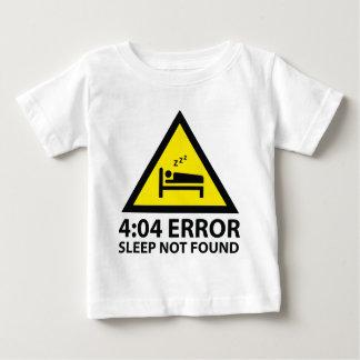 4:04 Error Sleep Not Found Baby T-Shirt