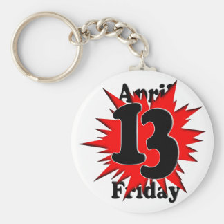 4-13 Friday the 13th Keychains