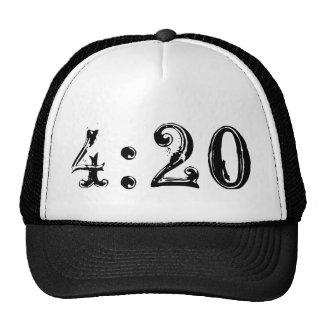 4:20 Trucker style hat Very hot