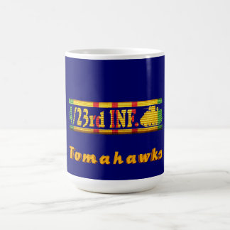 4/23rd Inf. VSR Tomahawks Insignia Mug