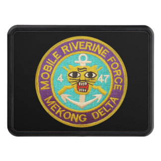 4/47th Inf Mobile Riverine Force Patch Hitch Cover