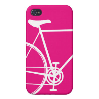 4/4S hot pink Cycle iPhone 4 Cases