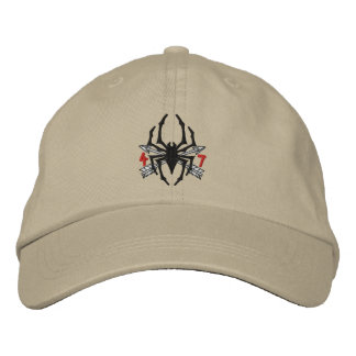 4/7 Spider Logo Hat